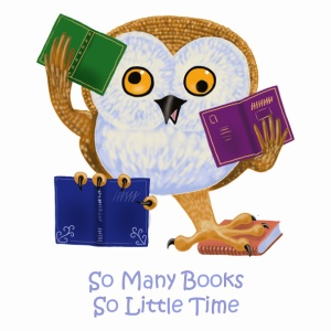 Book Owlie - so many books, so little time