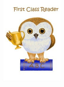 book owlie first class reader